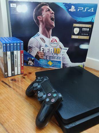 PS4 Usada em excelentes condições + jogos