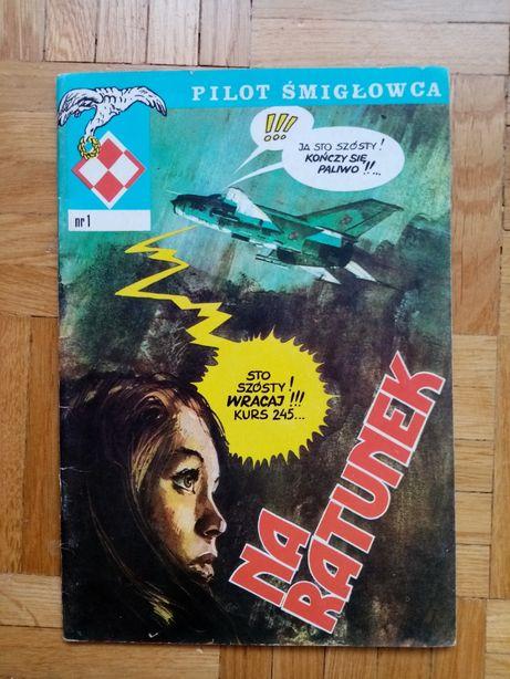 NOWY Pilot śmiglowca nr 1 Na ratunek 1989 r.