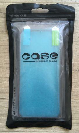 Etui, plecki case MOBILE CASE iPhone 5, SE czarne + folia