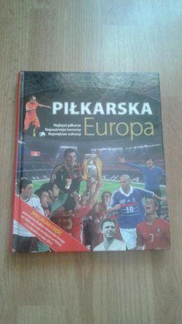 PIŁKARSKA EUROPA dzieje futbolu książka STAN BDB