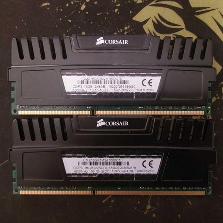 DDR3 Corsair Vengeance 1600mhz C10 2x8GB - Total 16GB