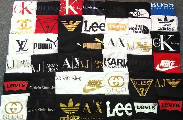 Koszulki z logo gucci levis puma Nike guess hugo boss Adidas Nike Lee