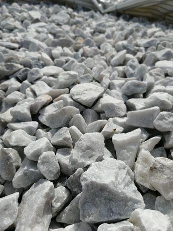 Szaro biały grys Bianco Carrara 16-32  Leszno Kościan Wschowa