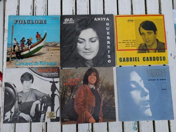 Discos 45rpm Autografados Simone, Anita Guerreiro, Gabriel Cardoso, He