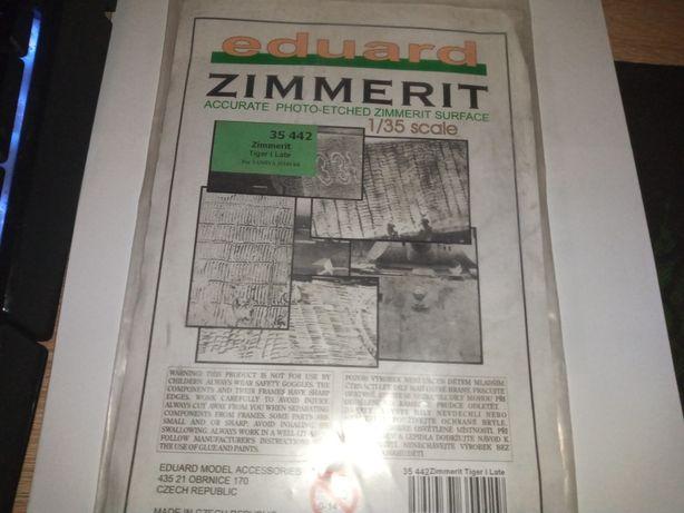 Eduard zimerit na czołg pantera oraz Tiger 1/35 skala