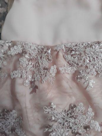 Sukienka na roczek lub święta 80 cm jak nowa