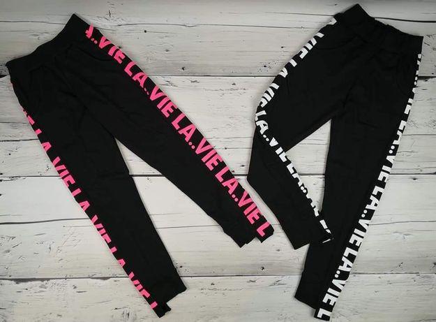 WYPRZEDAŻ! Spodnie dresowe dziewczęce 140-158