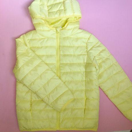 Осенняя курточка на девочку 7-8 лет демисезон куртка