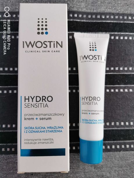 Iwostin Hydro sensitia krem + serum