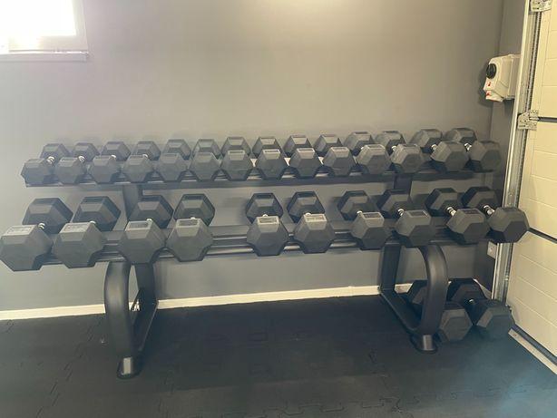 Hantle hex PROUD 10-40 kg przeskok 2,5kg