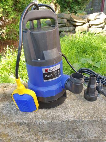 Насос фекальный дренажный для канализации септика выгребной ямы