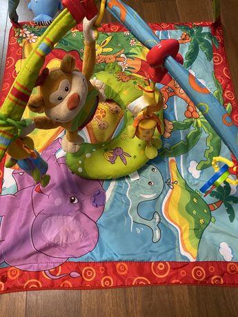 Развивающий коврик Остров поющей обезьянки