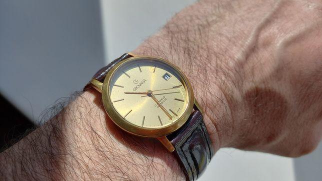 Швейцарские механические часы 'Grovana' incabloc 17 jewels оригинал