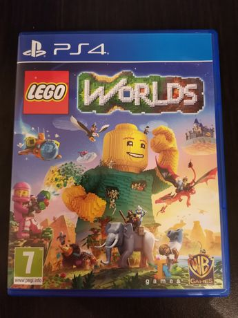 Ps4 gra LEGO Worlds po polsku