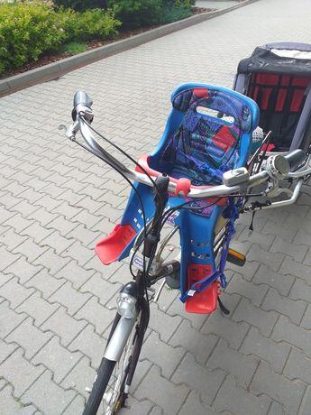 Fotelik rowerowy na rower dla małego dziecka na przód/ przedni