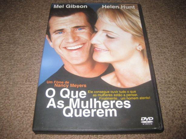 """DVD """"O Que As Mulheres Querem"""" com Mel Gibson"""