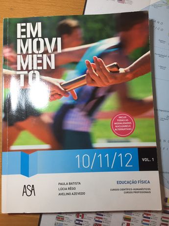 Livro Educação Física - Em movimento