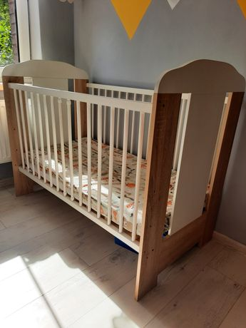 Łóżko dziecięce 120X60 ze szczebelkami
