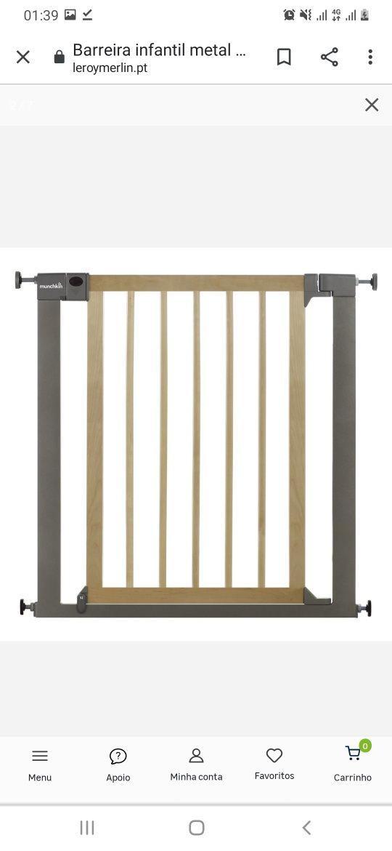 MUCHKIN - Metal deco easyclose 75-82cm