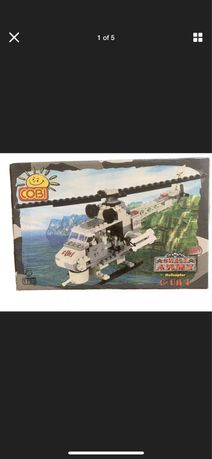 COBI Mała armia Navy #1133 C-UH-1 Helikopter z 2002 + GRATIS zestw
