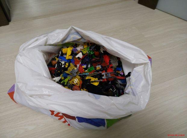 Конструктор Lego 3 кг (лего минифигурки машинки роботы)