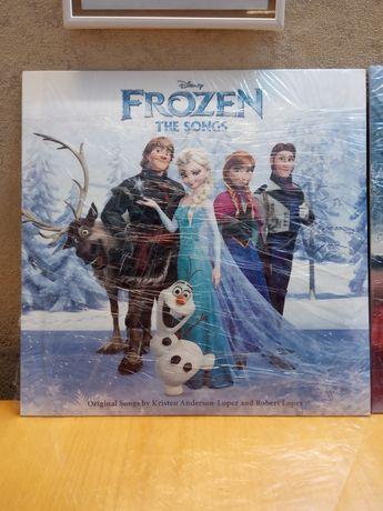 Виниловая пластинка Холодное сердце Дисней Frozen Рапунцель винил