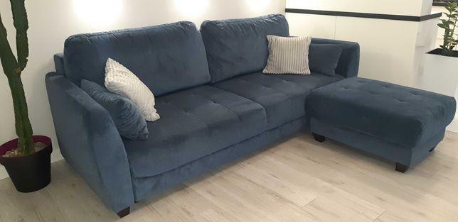 Komplet wypoczynkowy, sofa, fotel, hoker