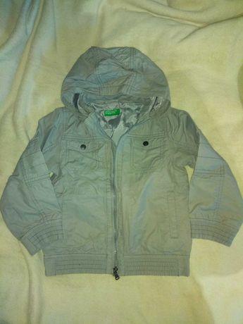 Куртка весна-осень тонкая для мальчика 4-5 лет