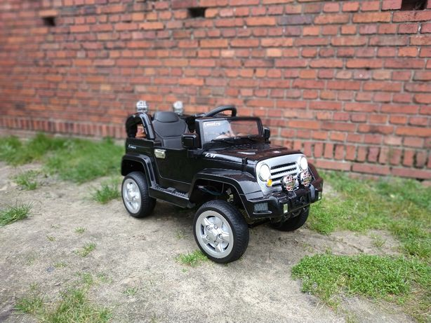 Samochód Na Akumulator # Jeep Wrangler # Skóra # EVA