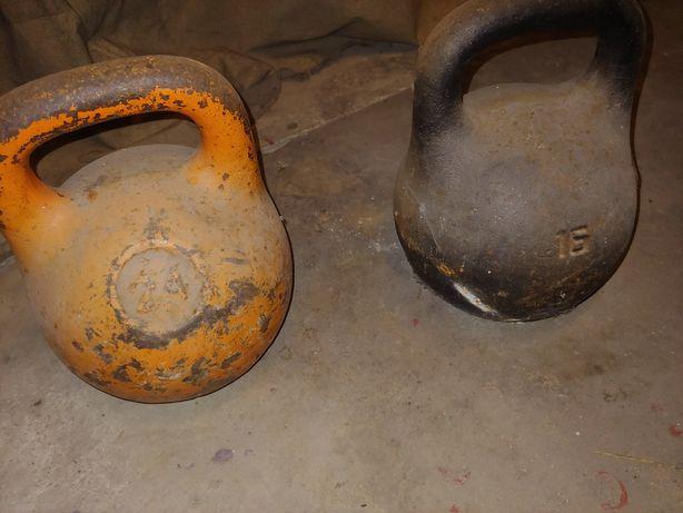 Гиря совецкая 16кг 24 кг