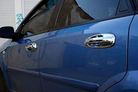 Хромовые накладки на ручки Chevrolet Lacetti НОВЫЕ!
