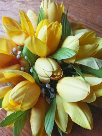 Żółte tulipany, kolekcje