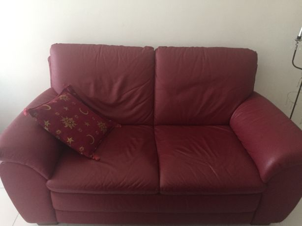 Sofa em couro Chateau d'Ax