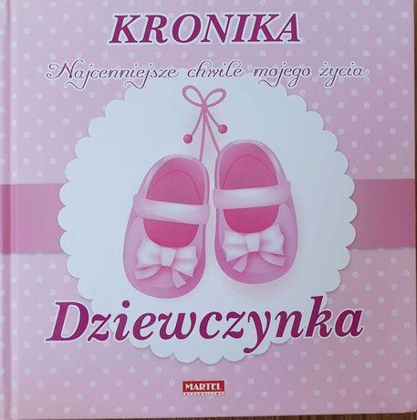 Kronika wspomnień dla dziewczynki do uzupełniania