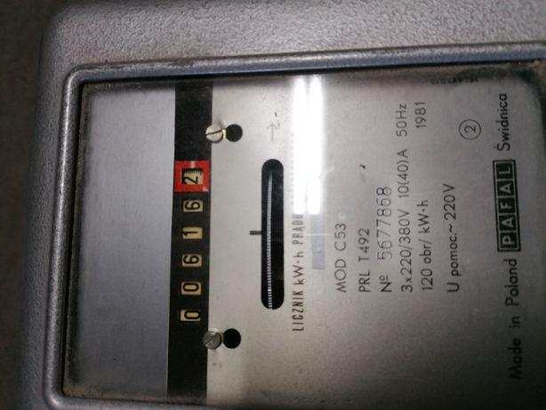Licznik prądu trójfazowy