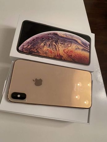 Идеальный iPhone XS Max 64Gb Gold Neverlock