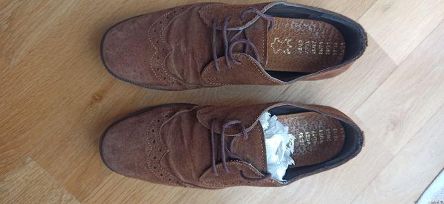 Skórzane buty wyjściowe Komunia