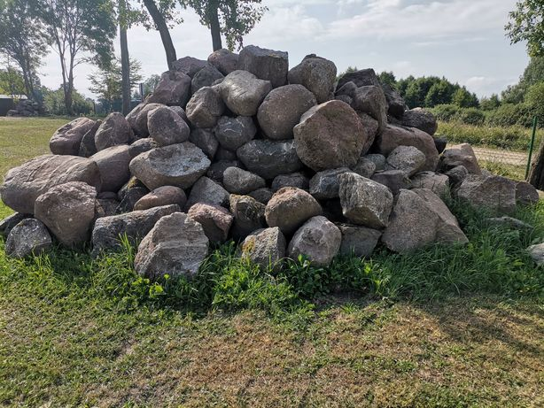 Kamień głazy duże ładne
