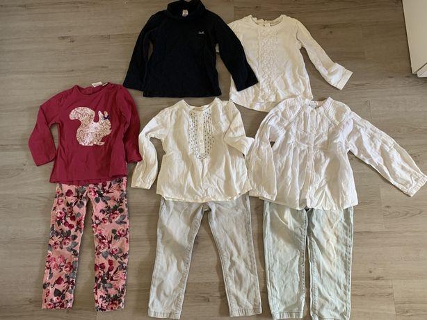 Conj 8 peças 2-3 anos menina