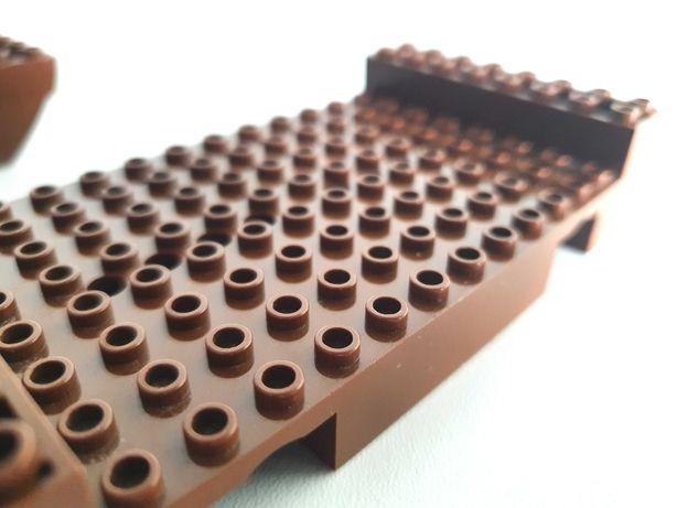 LEGO Kadłub statku 2560 brązowy do 6285 / 10040 / 6274 / 6286