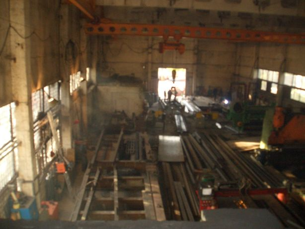 Завод металлоконструкций инструментальный цех металлообработки земля