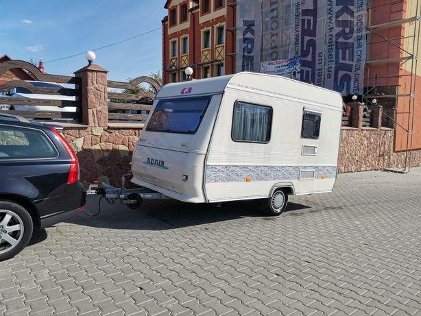 Свіжий караван Adria Unica MiNi 3 місць Легкий 600кг  ,трейлер, кемпер