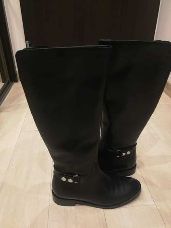 Kozaki 7mil, czarne