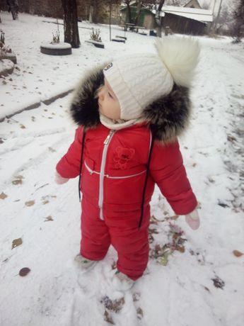 Продам шапочку,очень теплая и красивая