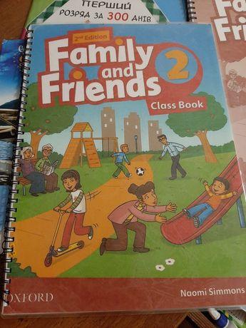 Книжка з англійської Family snd Friend 4 кл та 3 кл.