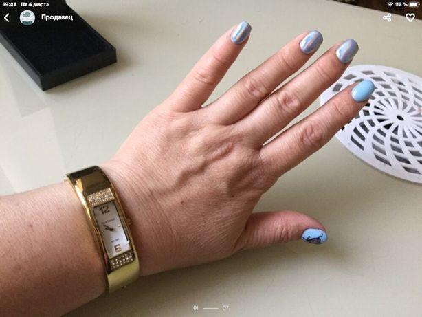 Часы женские Pierre Lannier годинник жіночий позолота браслет