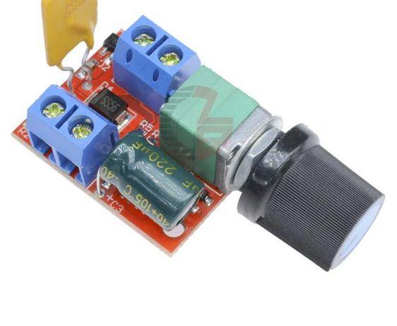 Dimmer potenciómetro 3V 35V (5V 12V 24V) - regulador LED, motores