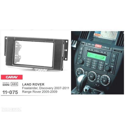 MOLDURA / ADAPTADOR PRETO PARA RADIO 2-DIN LAND ROVER FREELANDER DISCOVERY RANGE ROVER