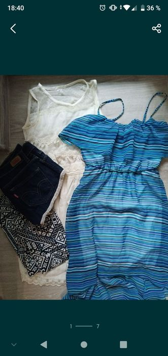 Сарафан, лосины, шорты Сумы - изображение 1