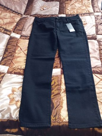 Spodnie damskie nowe z metką,czarne z domieszką laycry